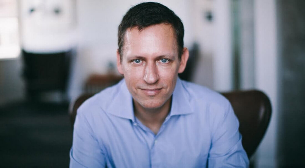 Photo of Peter Thiel  via TechSpot