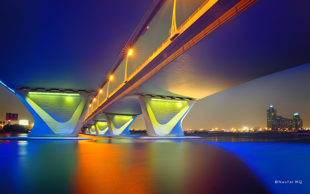 Business Bay bridge