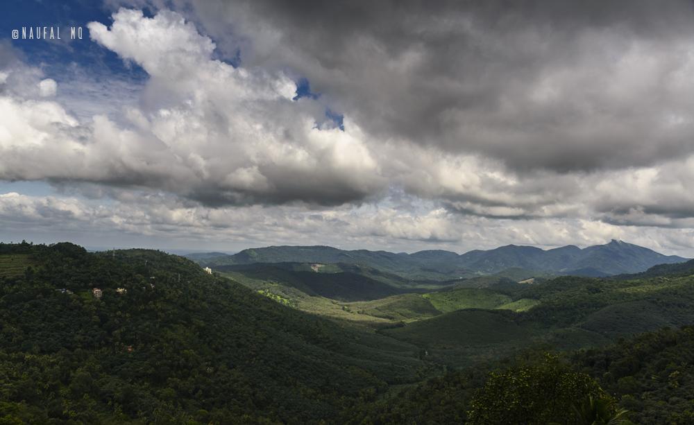 Hillscape near Peermedu, Kerala