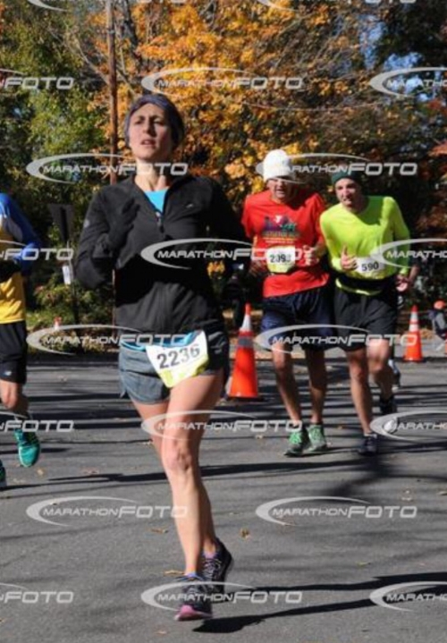 Are those Trump cronies behind me?! Photo borrowed from marathonfoto.com