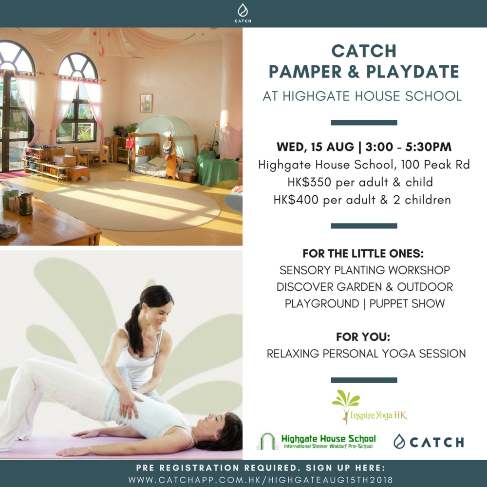 CATCH Pamper & Playdate Highgate Yoga and Planting Workshop