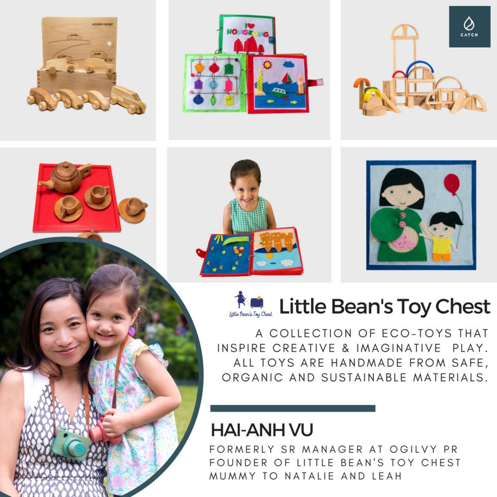 CATCH #sheboss Little Bean's Toy Chest Hong Kong