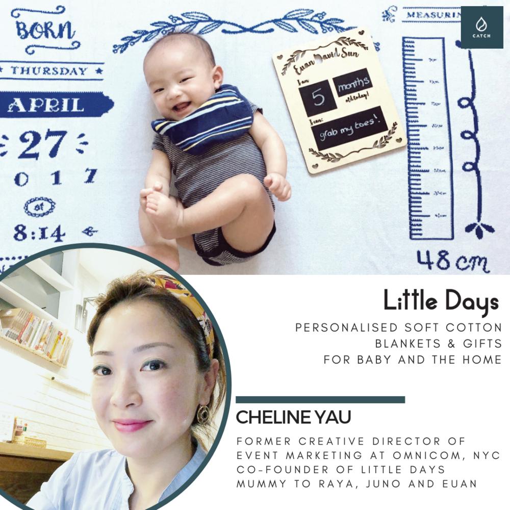 CATCH #sheboss Mama Cheline Little Days Hong Kong