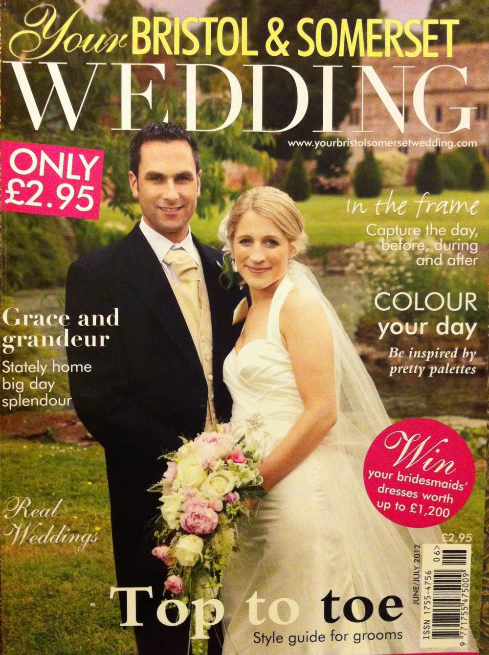 thairapy featured in Bristol & Somerset Wedding 2012