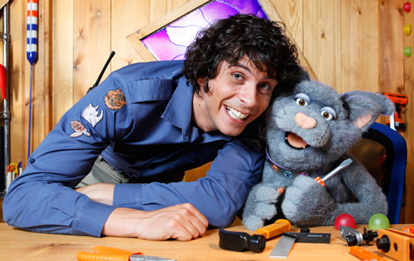 thairapy - continuity stylist to Andy Day for CBeebies 2013