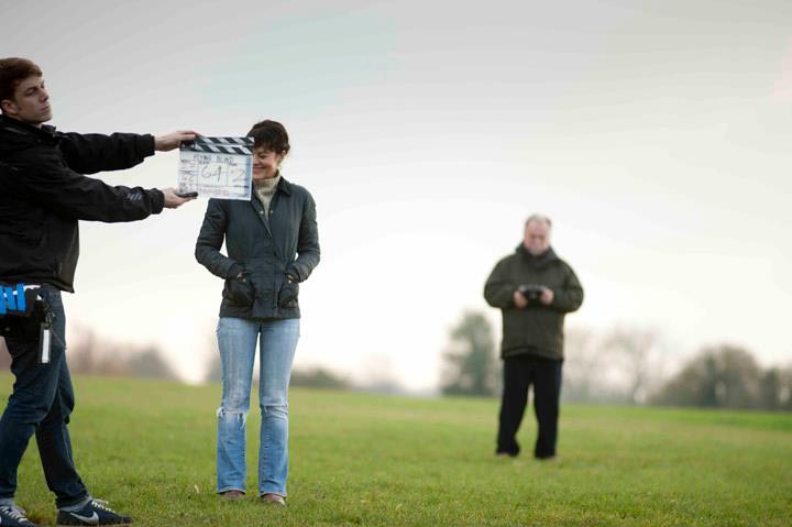 thairapy day stylist to Helen McCrory for Flying Blind 2012