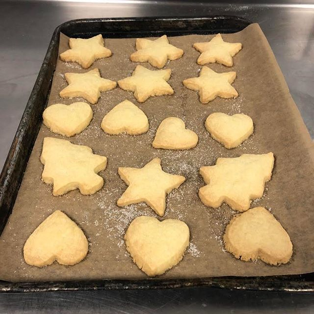 We started a Christmas baking course this week!  Look what we made.... #fortebakery #lovebaking