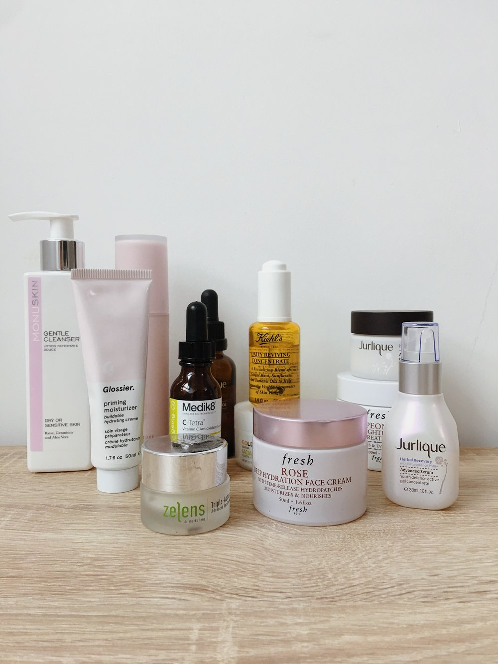 Skincare for Dehydrated Skin -