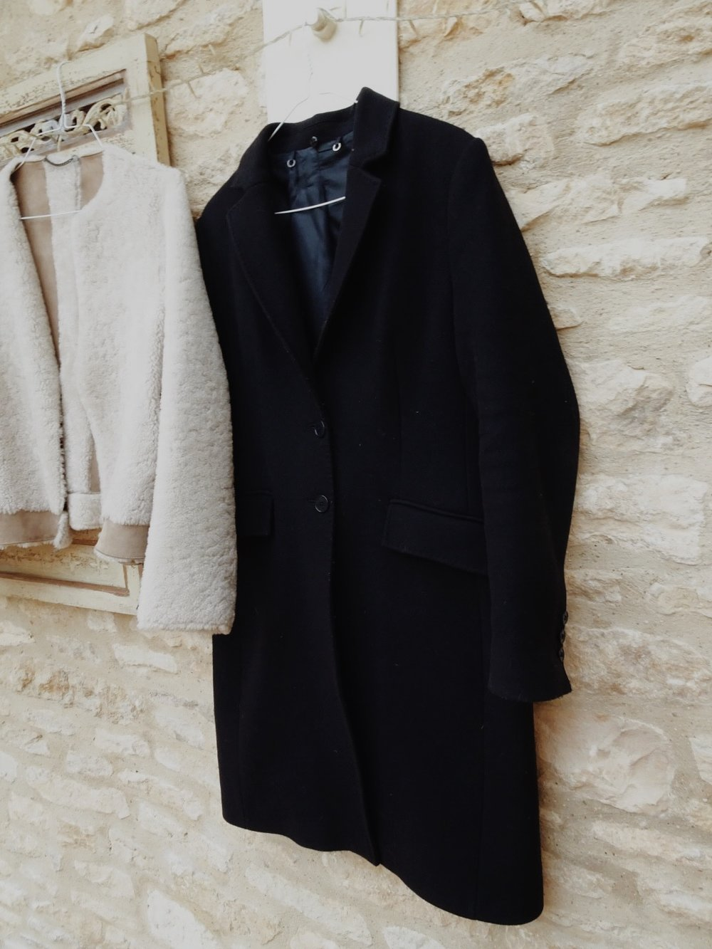The Navy Winter Jigsaw Coat
