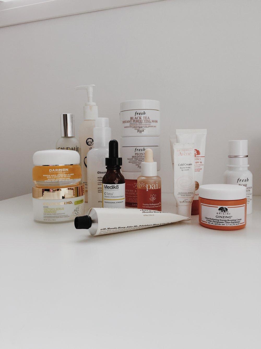 Skincare Favourites - jasminehardingmakeup.com