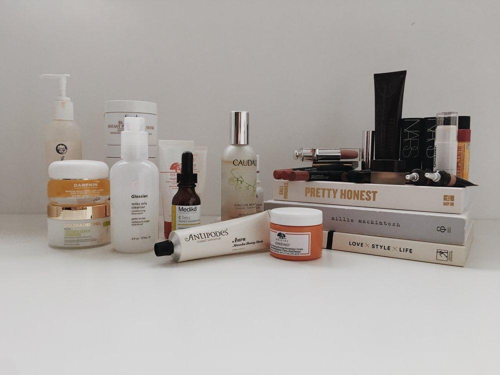 Staple beauty products - jasminehardingmakeup