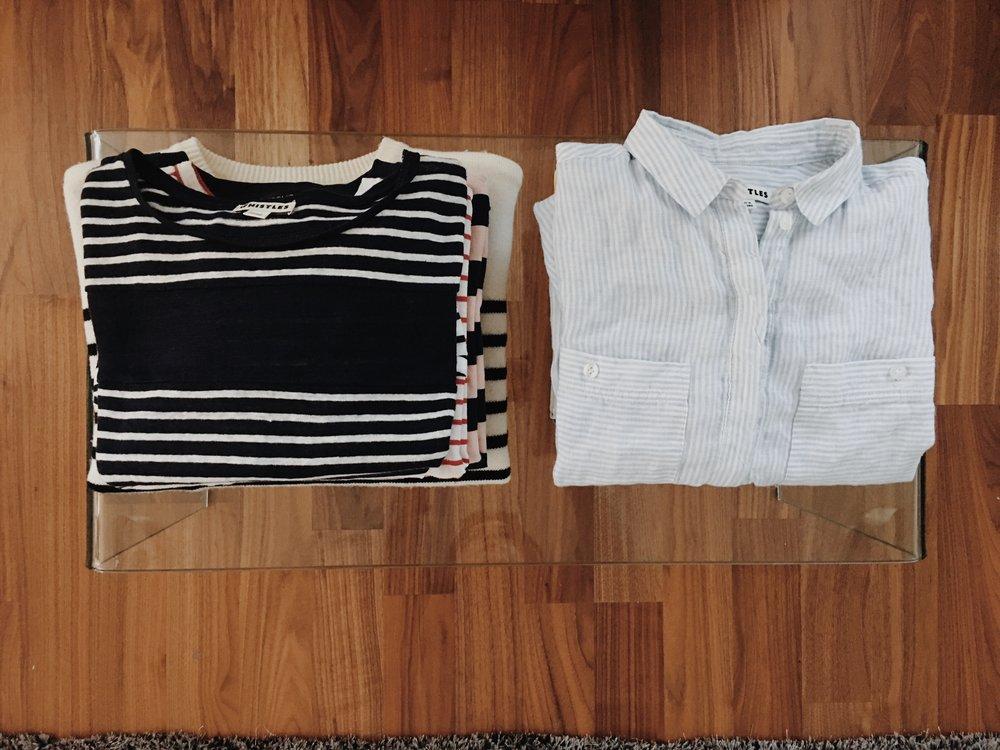 Stiped Wardrobe - www.jasminehardingmakeup.com