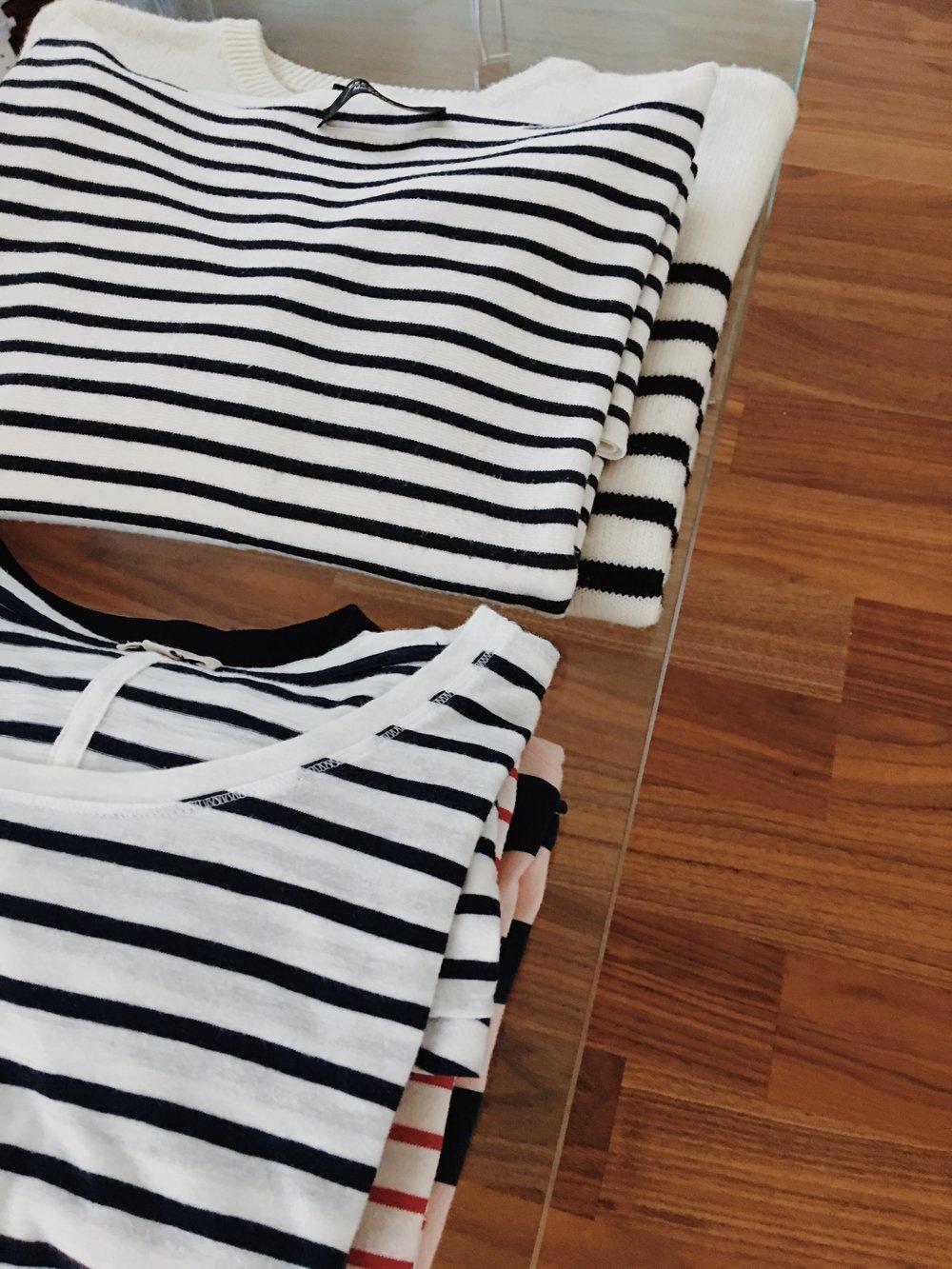 Striped Wardrobe edit - jasminehardingmakeup