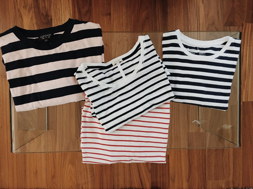 striped tops - JHM
