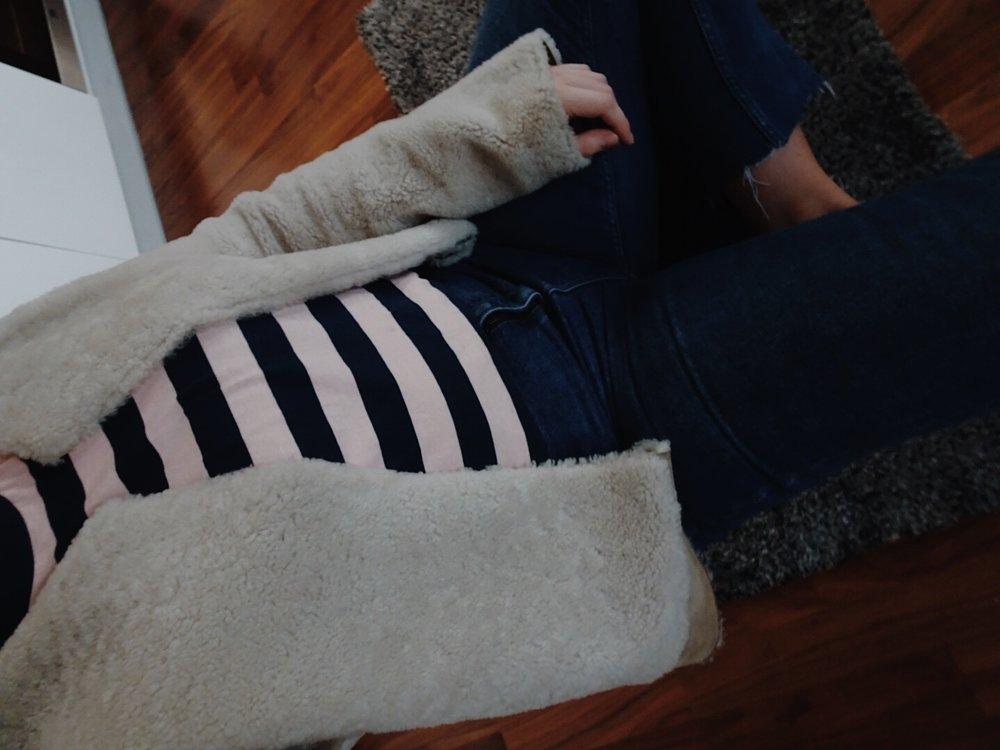 jasminehardingmakeup.com / striped top