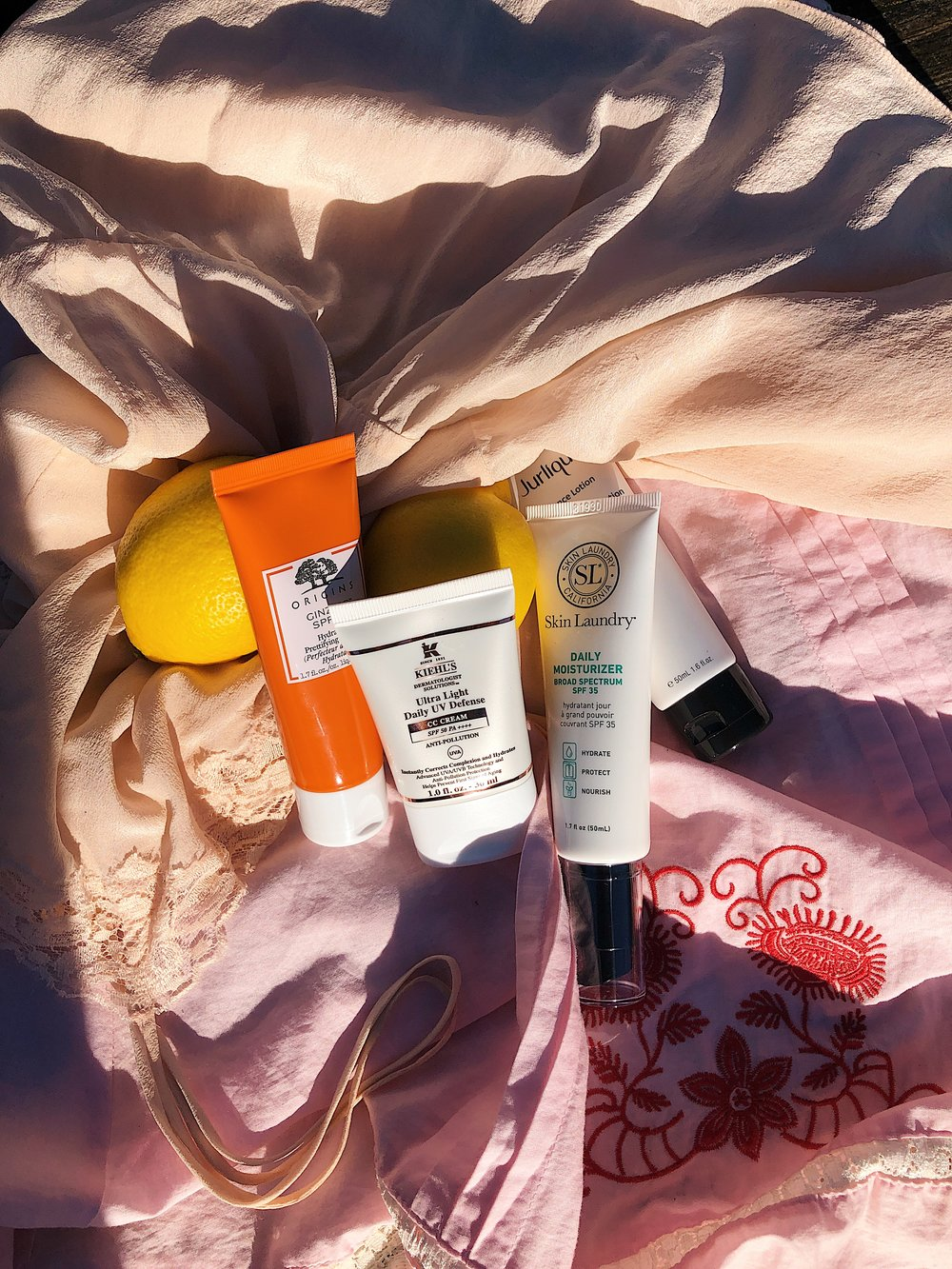 - SPF is the most important product to tick off your packing list and when I started planning my beauty bag for my up-coming 5 month trip, SPF was the one category I wanted to get nailed down to a T. Having a few different options was key; the ultra protecting SPF50 that I could slather on for days at the beach to the tinted, lighter options that double up as a tinted moisturiser for when I want to look a little more glam or for shoot days. Ideally when it comes to picking your suncream, you need to look for ones that offer UVA and UVB protection to ensure you are covered for ageing (UVA) and burning (UVB) and really you should be using factor 50 on your face to keep damage to an absolute minimum. From satin like textures to lightly tinted glow boosting creams for when you don't want to wear makeup but your skin needs a slight radiance boost, below are the top 4 SPF's I'm taking with me to Australia and elsewhere…