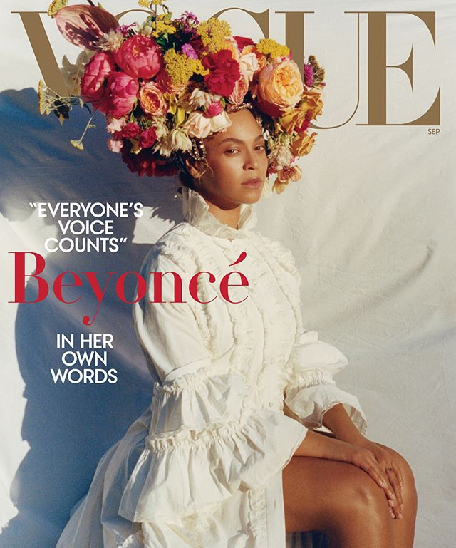 💐MONUMENTAL 💐 #SeptemberIssue of @voguemagazine in the hands of @beyonce and the first black photographer to do the cover @tylersphotos 🌹 . . #whattookyousolong #vogue #blackexcellence #legendary #legacy #beyoncé #queenb #monumental #beyhive