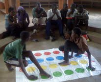 Twister at the Fountain of Hope Lubuto Library