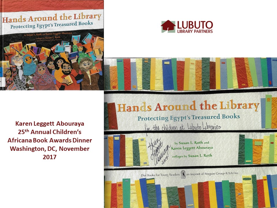 Hands Around the Library: Protecting Egypt's Treasured Books  by Karen Leggett Abouraya and Susan L. Roth