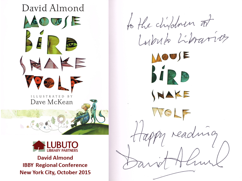 Mouse Bird Snake Wolf  by David Almond and Illustrated by Dave McKean