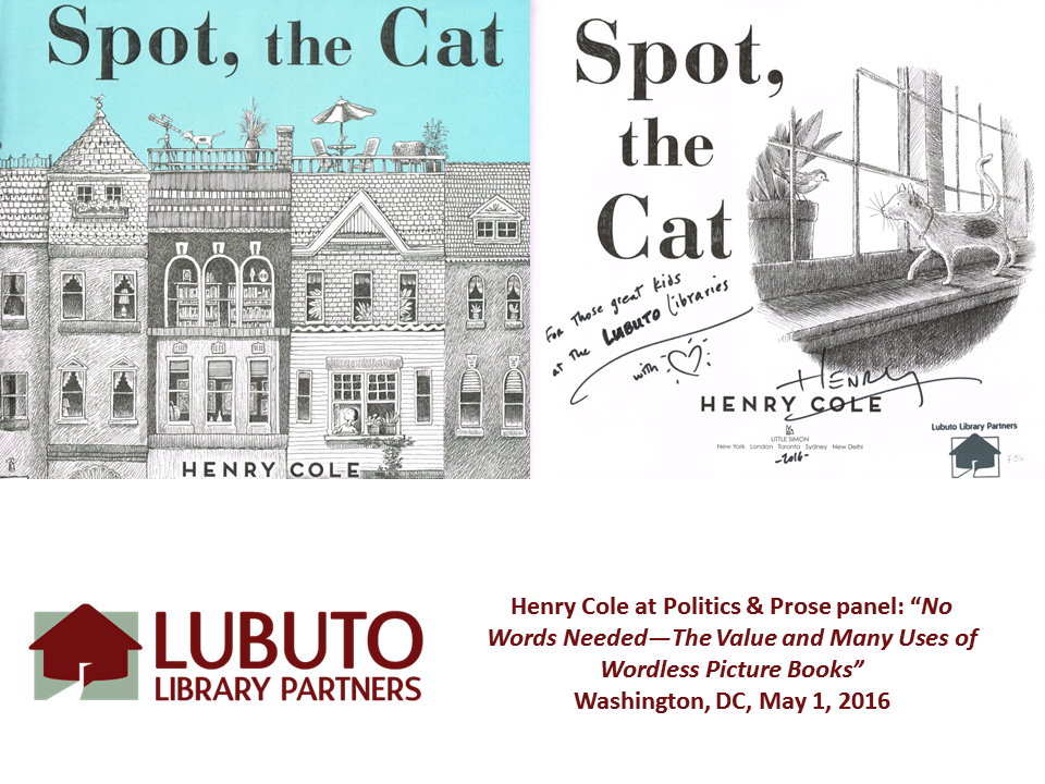 Spot, the Cat  by Henry Cole