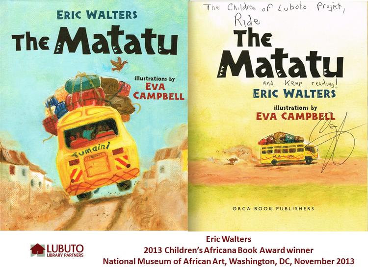 The Matatu  by Eric Walters