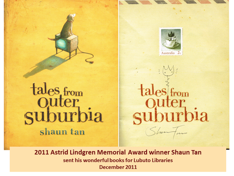 Tales From Outer Suburbia  by Shaun Tan