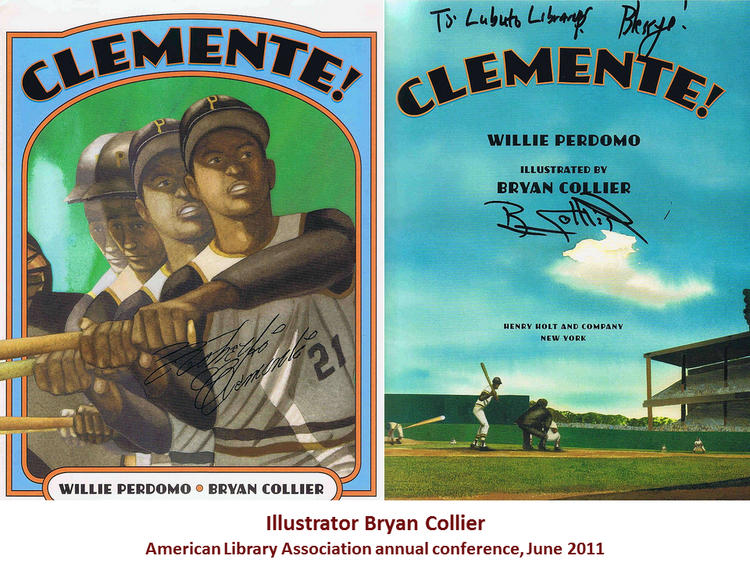 Clemente!  illustrated by Bryan Collier