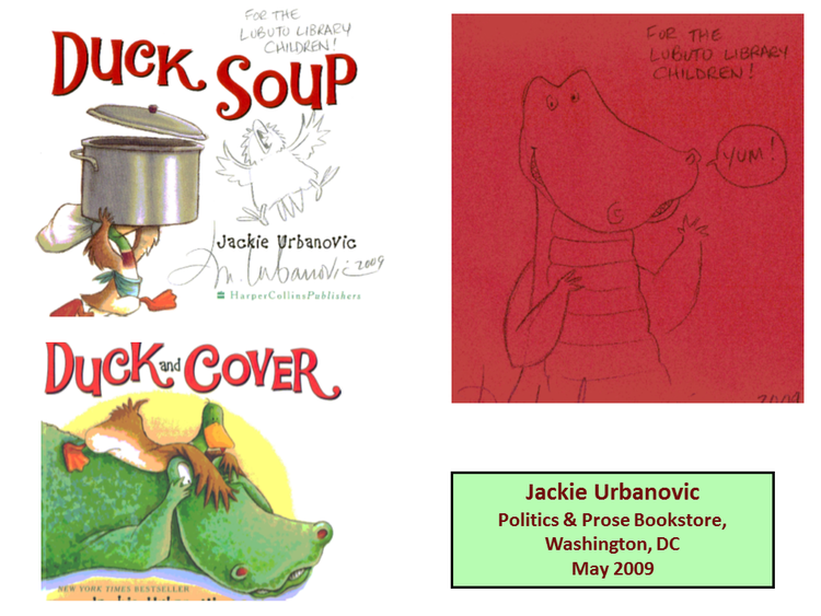 Duck Soup  and  Duck and Cove r by Jackie Urbanovic