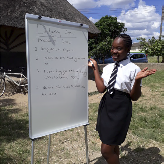 Angel is so proud of who she has become, and she hopes to teach other girls about their sexual and reproductive health and rights (SRHR).