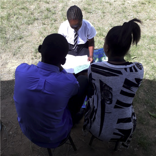 Angel began to talk with her parents about SRHR topics, and they encouraged her to get her younger sister involved in the program too.