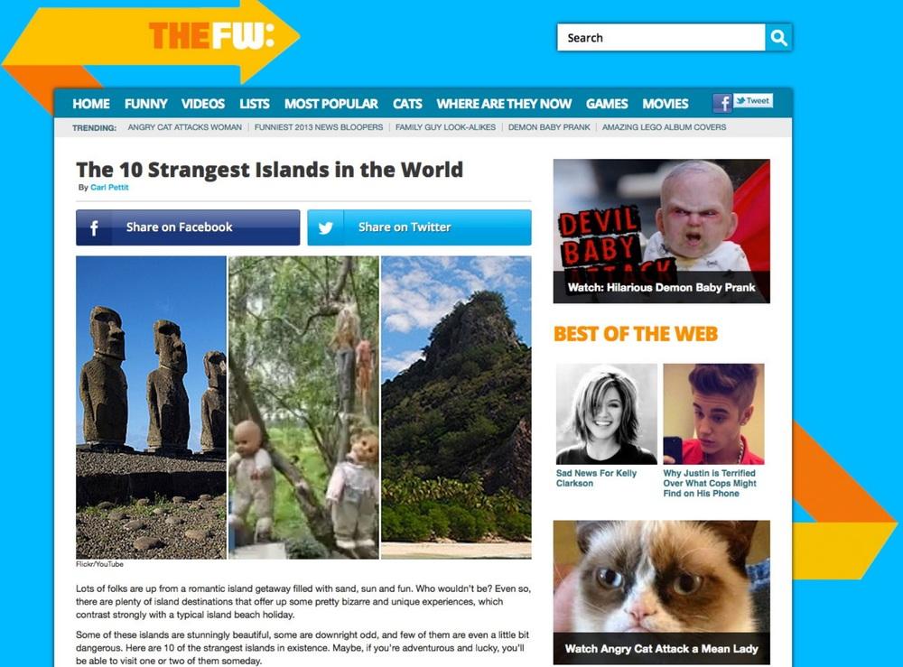 http://thefw.com/strange-islands/