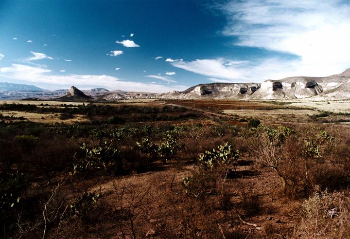 Huejuquilla Landscape. Huejuquilla Jalisco, Mexico 1999 © Kalman N. Muller