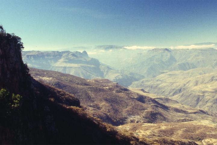 La Barranca de San Andres. San Andres Cohamiata, Jalisco Mexico 2001 © Kalman N. Muller