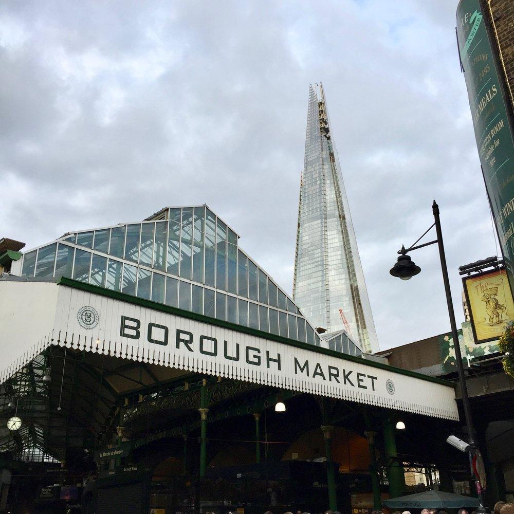 Borough Market and the Shard