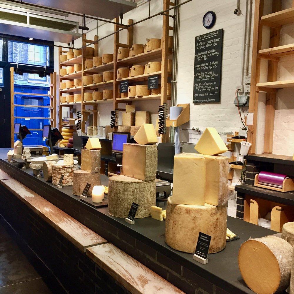Neal's Yard Dairy Interior