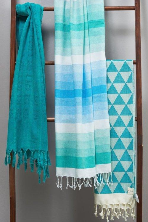 Eve & Al Beach Towels
