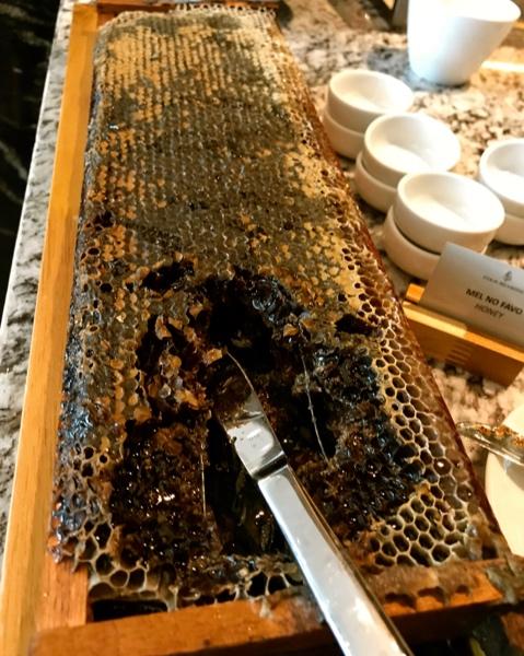 Honeycomb Breakfast at Hotel Four Seasons