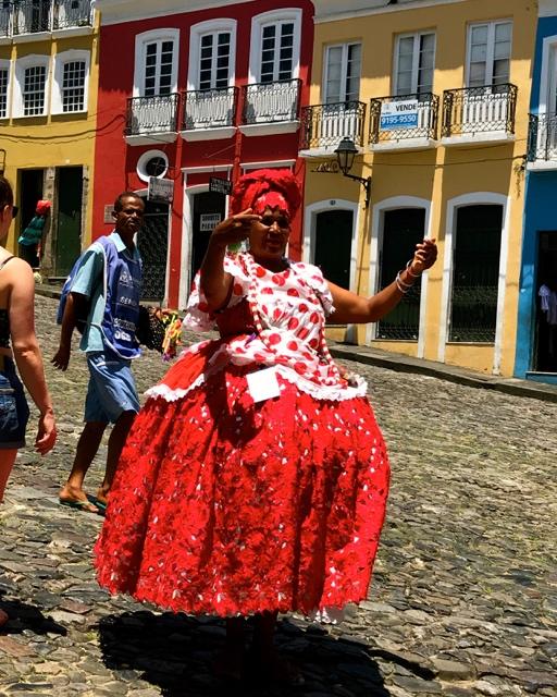 Brazil Bahia Salvador Old Town woman in traditional dress IMG_1934.jpg