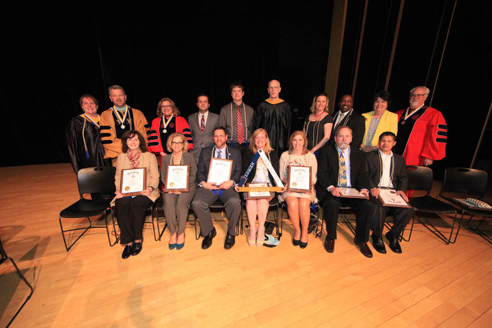 Honorary and Faculty Inductees