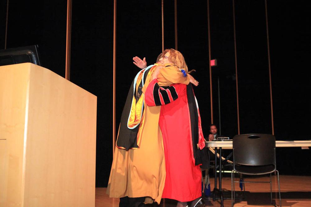 Dr. Kevin Howell, Dr. Karen Woszyna-Birch
