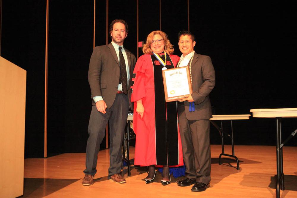 Eric Flynn, Karen Wosczyna-Birch, Kit Panasay