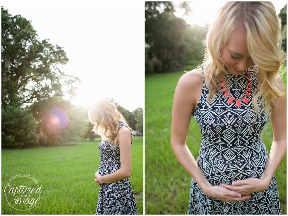 Campfire Styled Pregnancy Announcement Largo, FL_0054