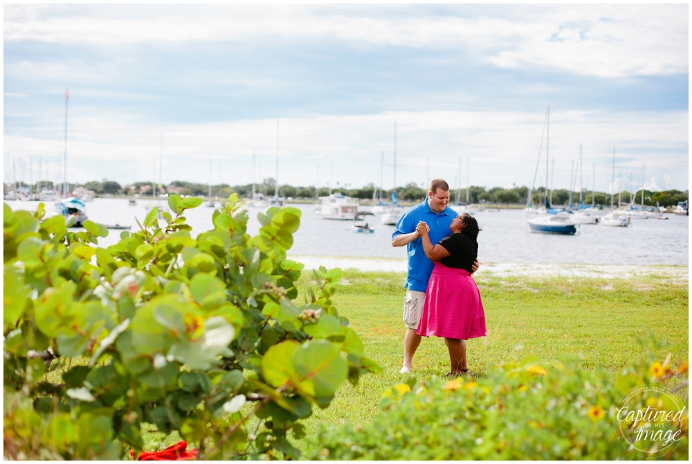Davis Island Surprise Engagement Session_0033