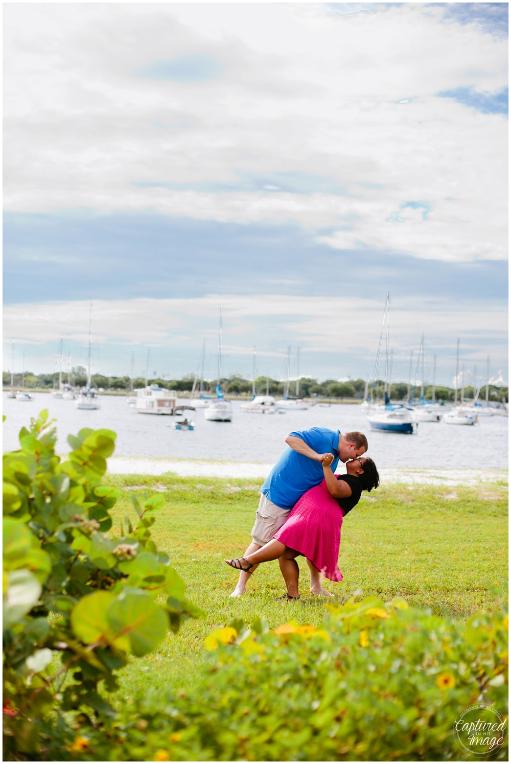 Davis Island Surprise Engagement Session_0034