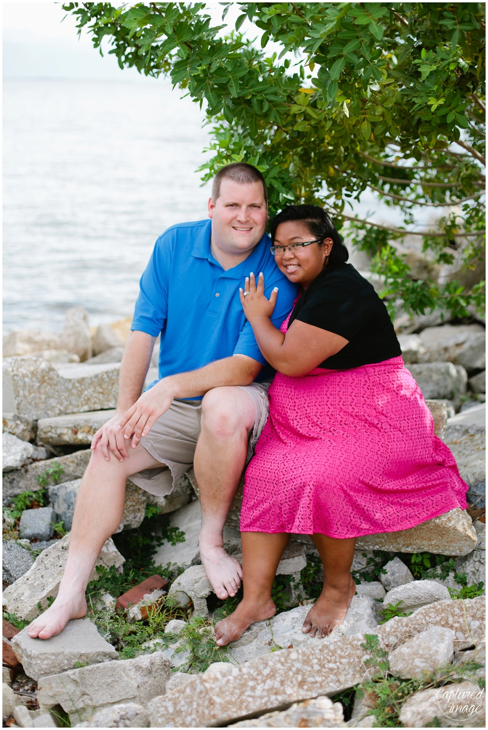 Davis Island Surprise Engagement Session_0037