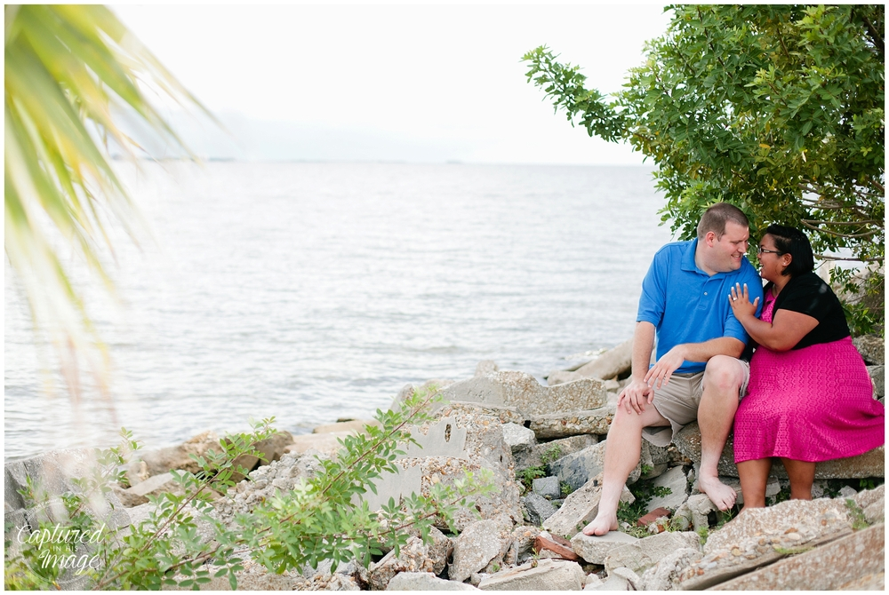 Davis Island Surprise Engagement Session_0038