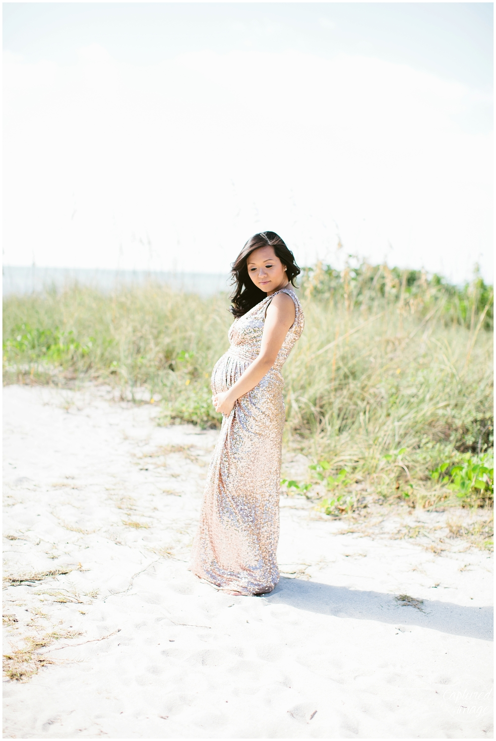 Fort DeSoto Rent the Runway Maternity Session_0448