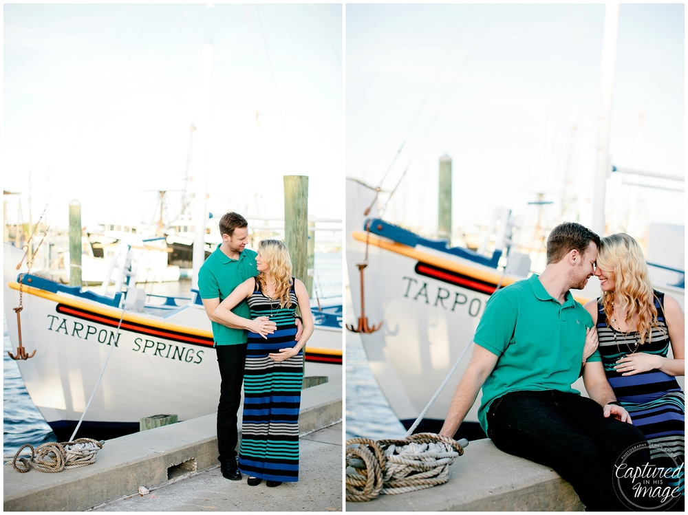 Tarpon Springs Sponge Docks Maternity Session_0706