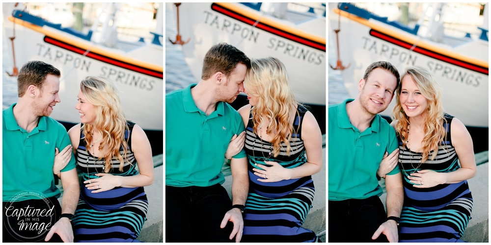 Tarpon Springs Sponge Docks Maternity Session_0707